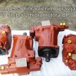 BPV pumpe sa hidrauličnim upravljanjem 2x BPV 50-L + 2 hidromotora BPV 105