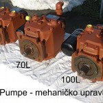 Pumpe BPV serije sa mehaničkim upravljanjem 50 L, 70 L, 100L